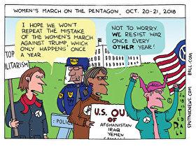 Anti-War Women to Washington