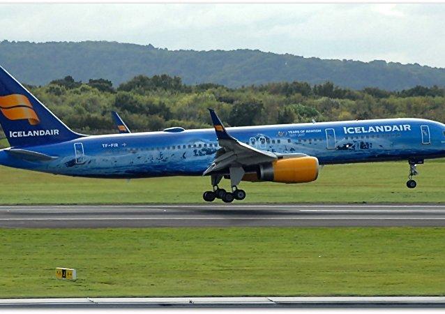Icelandair plane