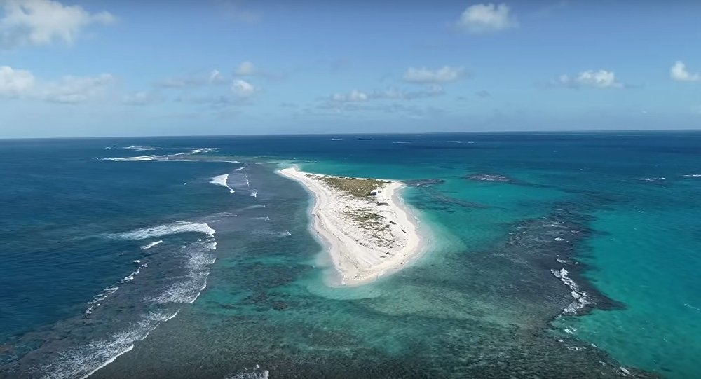Powerful hurricane caused an entire island in Hawaii to disappear