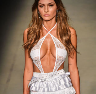 Putting the 'S' in Sizzle: Models Parade on Catwalk at Brazil Fashion Week
