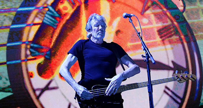 British musician Roger Waters performs at the Stadthalle in Vienna, Austria, on May 16, 2018.