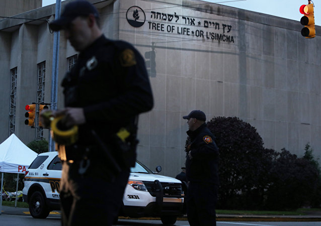 Tree of Life Synagogue in Pittsburgh Pennsylvania