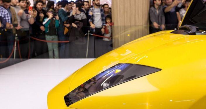 Iranian Lamborghini clone.
