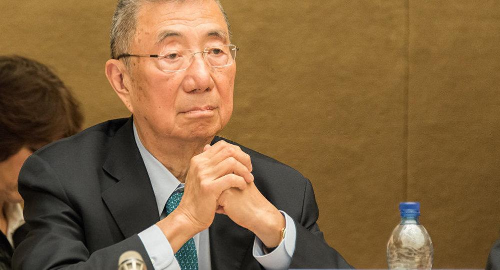 Prof. Samuel Ting, Nobel Laureate,Department of Physics, MIT