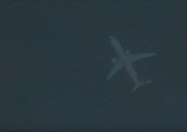 Google Earth appears to show plane submerged off the Scottish coast