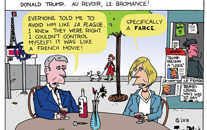No Bromance in France