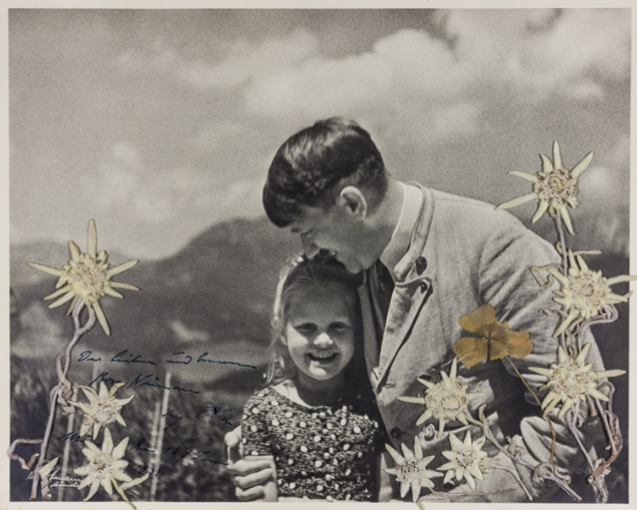 Maryland's Alexander Auction House sells image of Adolf Hitler with Rosa Bernile Nienau, a young Jewish girl who became his sweetheart.