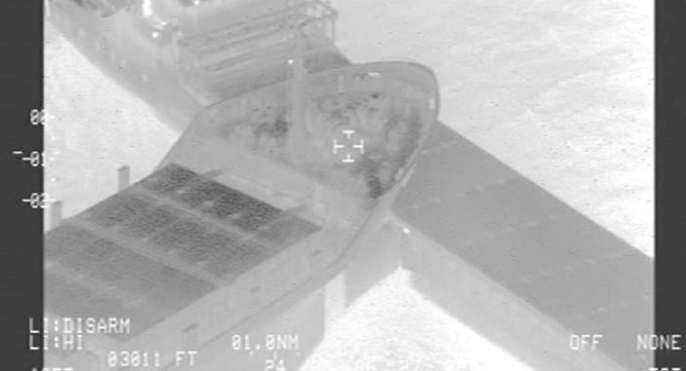 Collision between Paksoy 1 and Eems Cobalt, North Sea, November 15, 2018
