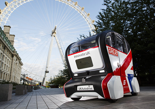 UK Autodrive Self-Driving Pod