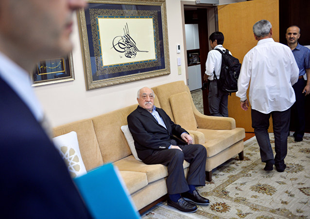 U.S. based cleric Fethullah Gulen at his home in Saylorsburg, Pennsylvania