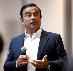 Nissan Motor Co. Chief Executive Carlos Ghosn