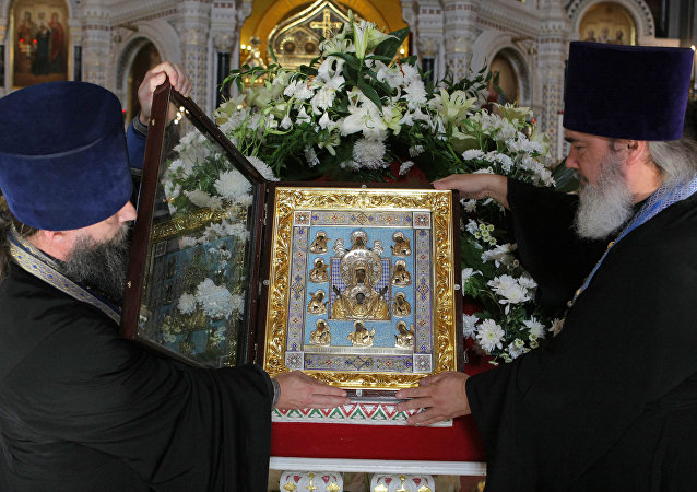 Kursk Root Icon of the Mother of God