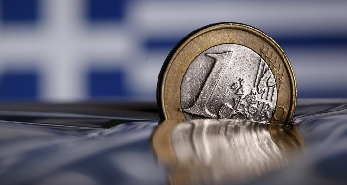 A one Euro coin is seen in this file photo illustration taken in Rome, Italy July 9, 2015