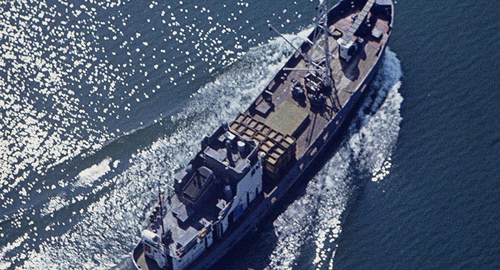 Fishing Vessel, Azov Sea