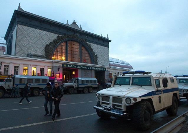 Kievskiy railway station