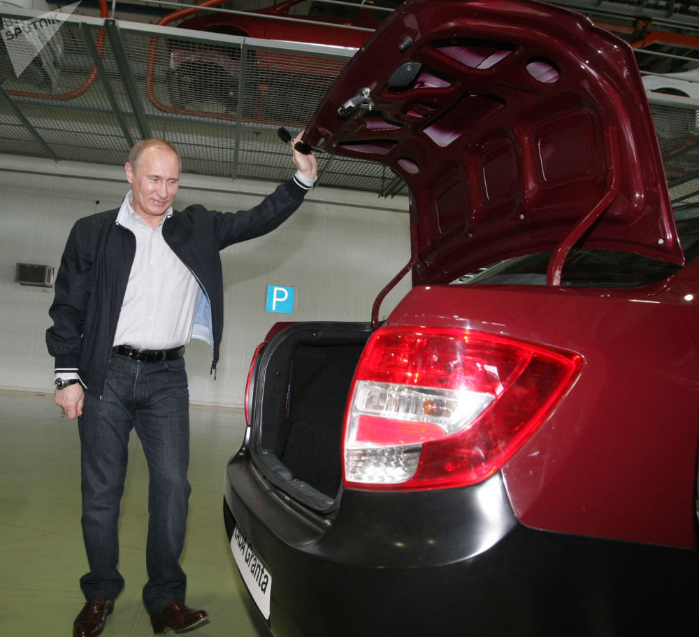 State Wheels: Vladimir Putin and the Cars He Rode