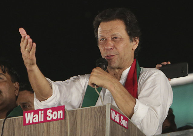 Pakistani politician Imran Khan