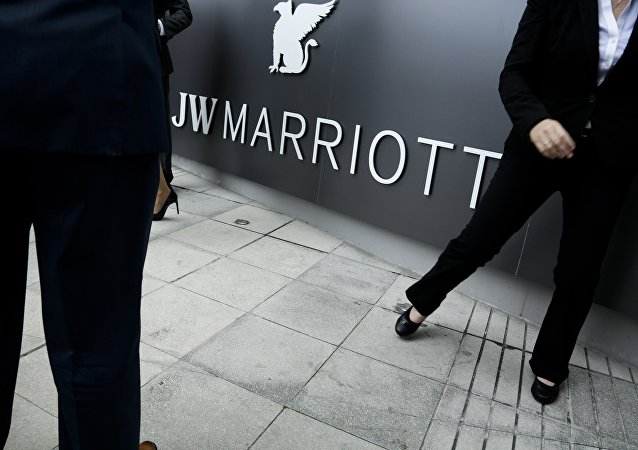 Former Trump Ocean Club hotel in Panama City, now rebranded as JW Marriott luxury hotel after a bitter dispute over control.