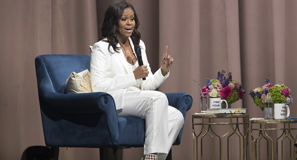 Michelle Obama Refers to Pandemic as 'Great Blessing'