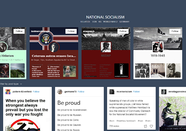 Pro-Nazi images remain on Tumblr after the company banned pornography from its platform.