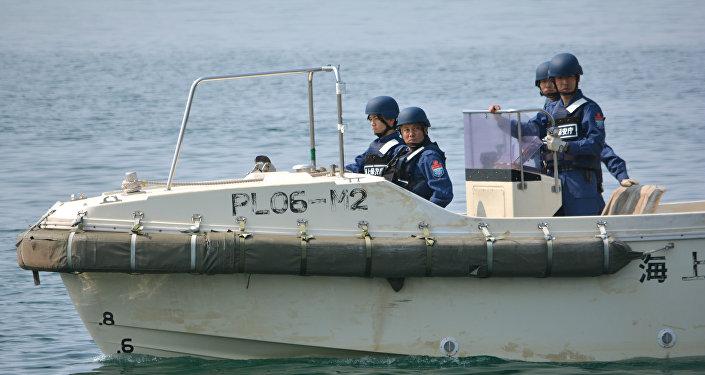The Japan Coast Guard