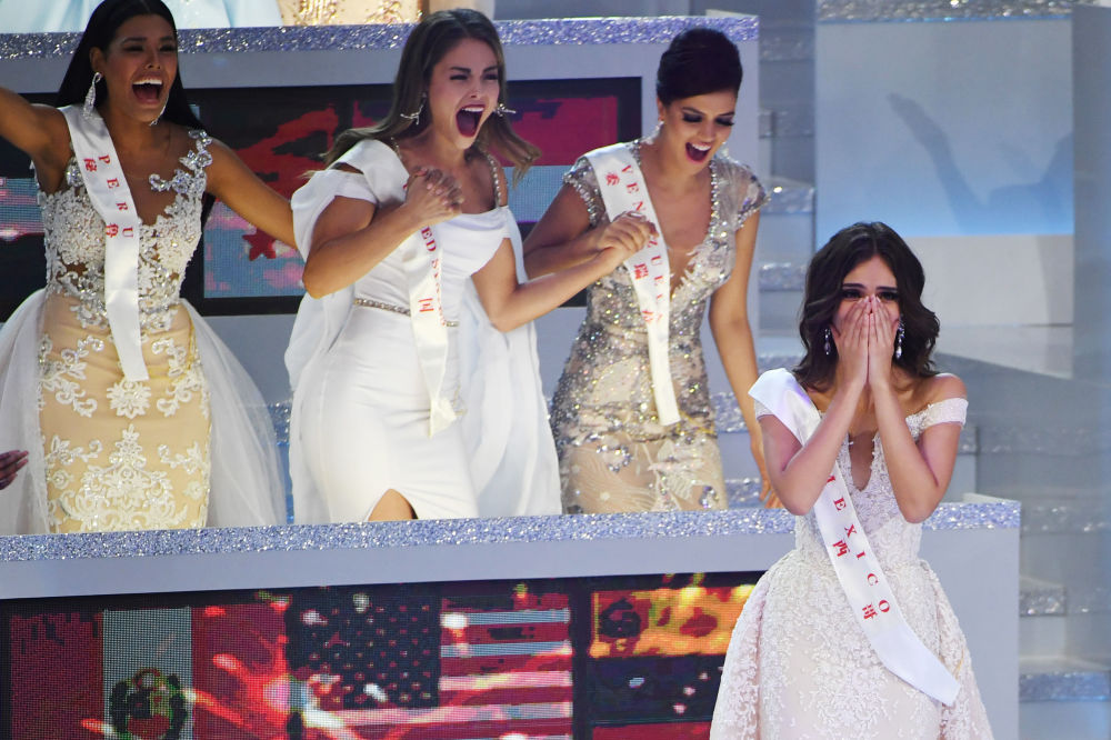 The Miss World 2018 Winner, Miss Mexico Vanessa Ponce de Leon, During the Winner Announcement