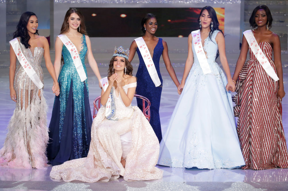 Miss World 2018 Winner and Miss Mexico Vanessa Ponce de Leon Celebrates Her Victory