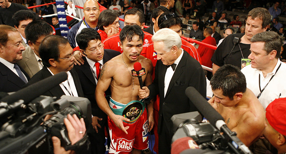 Philippine Boxing Champ Manny Pacquiao Launches His Own Cryptocurrency