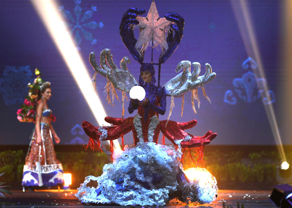 Mermaid Meets Sailor Moon: Miss Universe 2018 National Costume Presentation