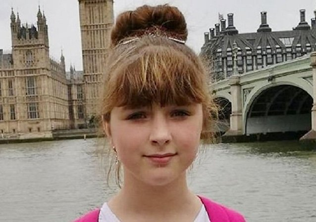 Viktorija Sokolova (pictured on a trip to London) was murdered in Wolverhampton in April 2018