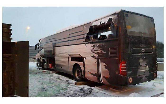 Tour Bus Crashes in Switzerland Killing One, Injuring 44 (PHOTO)
