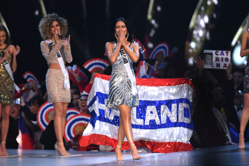 Miss Universe contestant Sophida Kanchanarin of Thailand at the 2018 Contest