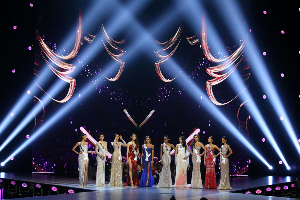 Finalists of the Miss Universe 2018 in Thailand