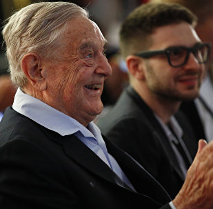 George Soros, Founder and Chairman of the Open Society Foundations attends the European Council On Foreign Relations Annual Council Meeting in Paris, Tuesday, May 29, 2018