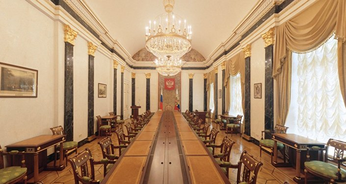 Room of the Security Council. Senate Palace. Moscow Kremlin
