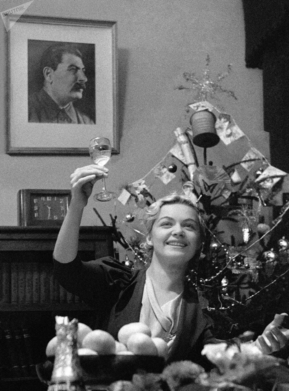 Happy New Year! Moscow, 1939