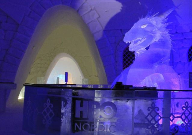 Finnish Snow Hotel, dedicated to the Game of Thrones series
