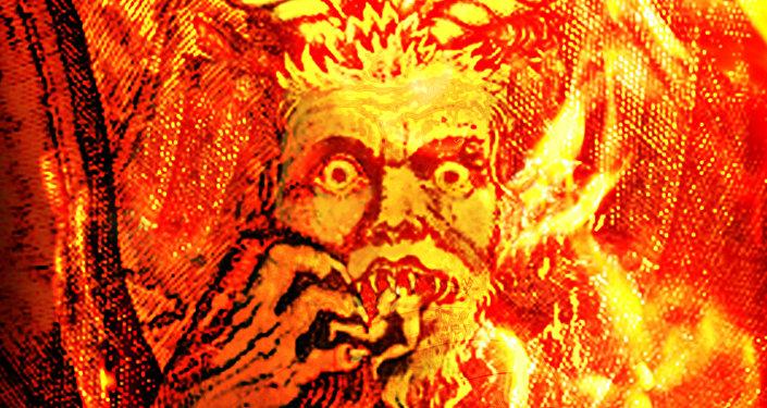 Satan (after Botticelli)