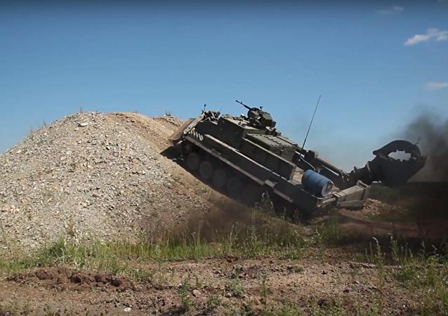 Universal Armoured Engineering Machine