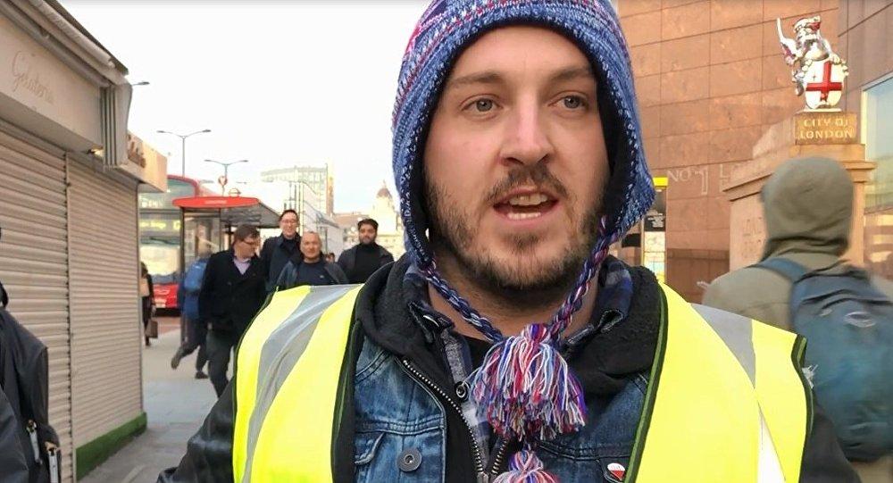 Activist James Goddard