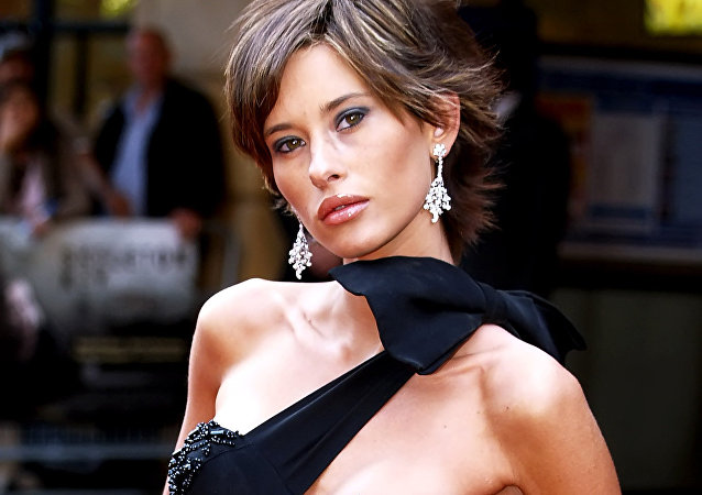British model Jasmine Lennard arrives at the London Premiere of the film  Skeleton Key  in London's Leicester Square, 20 July 2005