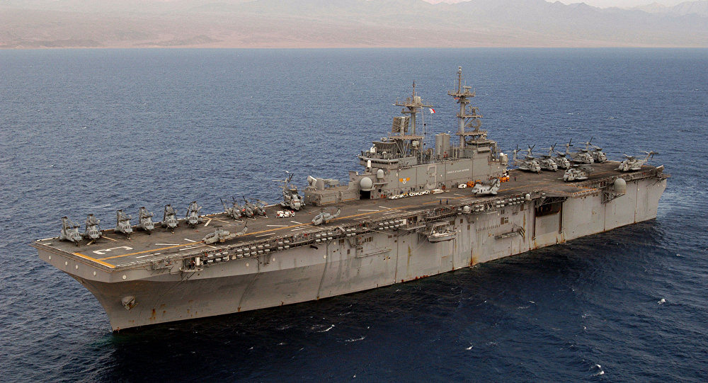 USS Kearsarge (LHD-3), file photo.