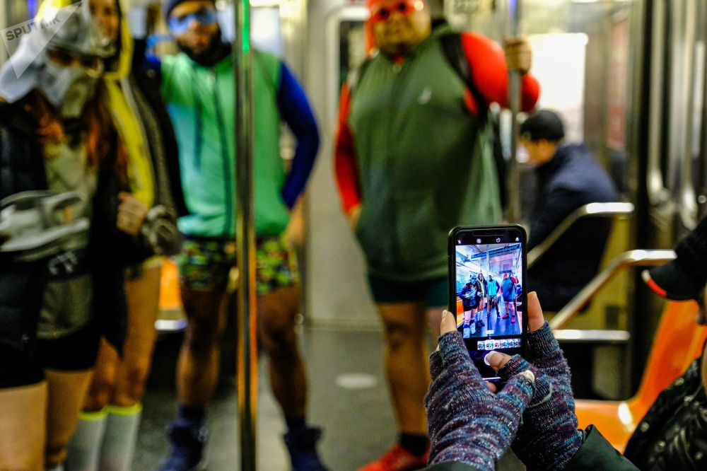 Nevermind the Chill: No Pants Subway Ride-2019 Takes Over the World
