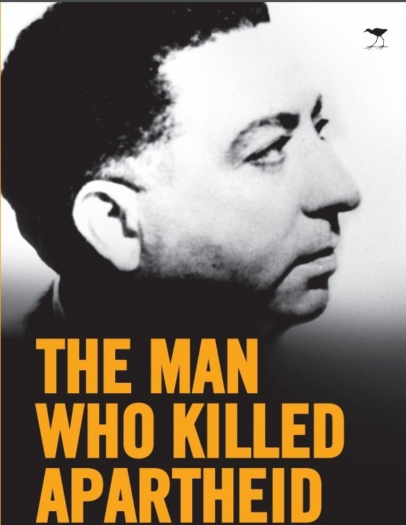 Harris Dousemetzis' book (pictured) is based on years of research into Henrik Verwoerd's assassin, Dimitri Tsafendas