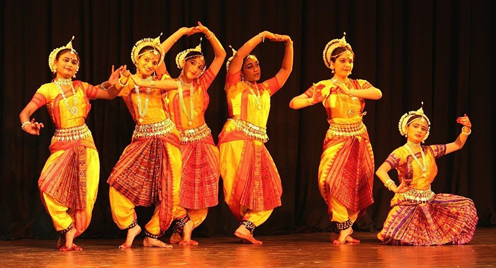 Odissi in a Group