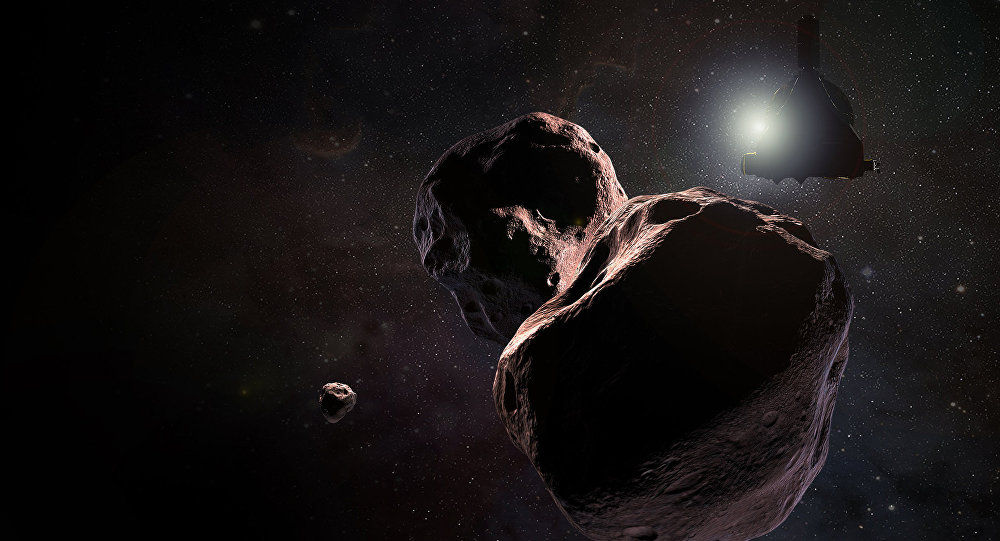 NASA releases fantastic flyby GIF of odd Ultima Thule object