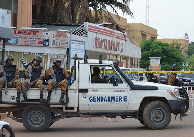 Security forces deploy to secure the area in the Burkina Faso (File)