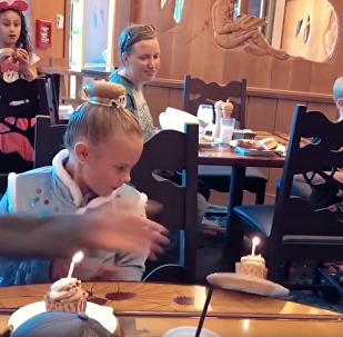 B-Day Blowout: Birthday Girl Slips, Tips Over Lit Cupcake