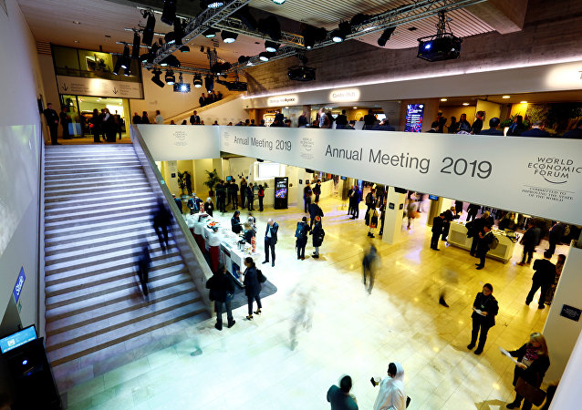 General view of the World Economic Forum (WEF) annual meeting in Davos, Switzerland, January 23, 2019