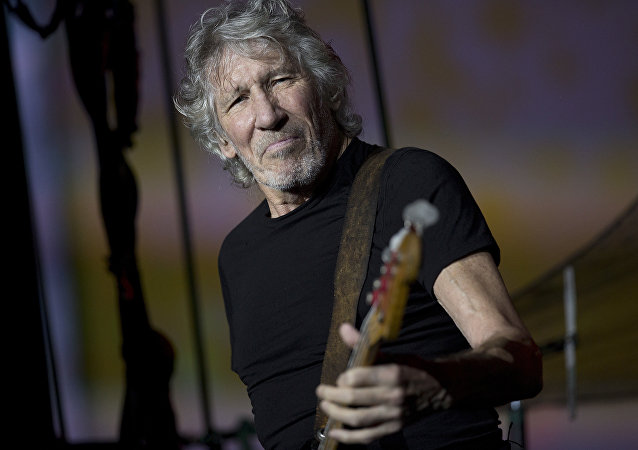 British singer and songwriter Roger Waters performs during his concert of the Us+Them tour at Maracana stadium, Rio de Janeiro, Brazil, Oct. 24, 2018
